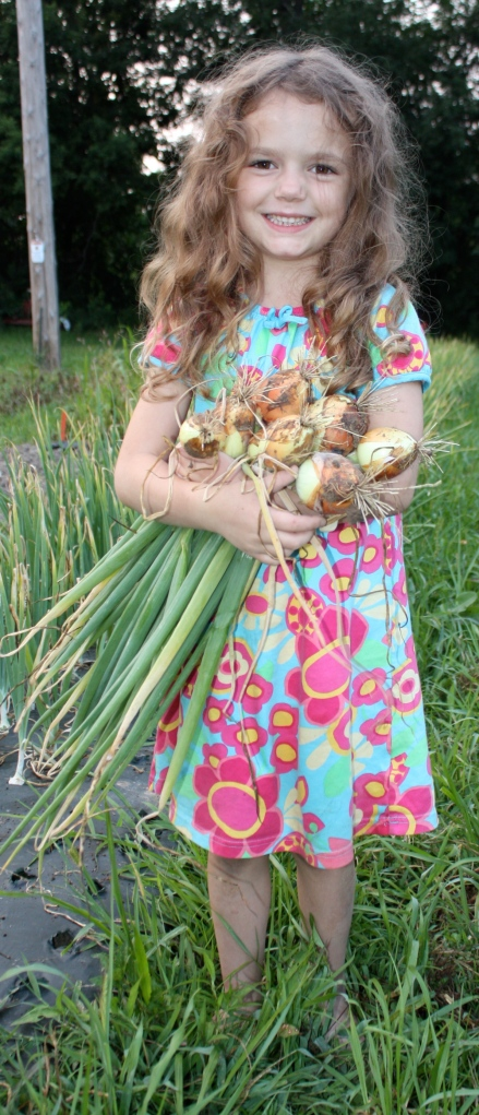 Onion Harvest Queen!