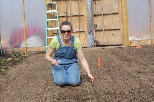 Having a blast seeding in beets!