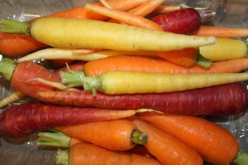 Full Share Carrots.  Beautiful!